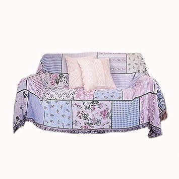 Amazon.com: LRXG - Manta para sofá, sofá nórdico, calor ...