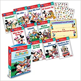 Amazon Com Mickey Mouse Clubhouse Reading Adventures