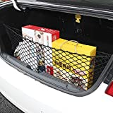 AndyGo Cargo Net -Envelope Trunk Style Black Mesh Cargo Organizer Storage Net Fit for Jeep Grand Cherokee 2011 2012 2013 2014 2015 2016 2017 2018