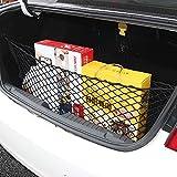 Cargo Net -Envelope Trunk Style Black Mesh Cargo Organizer Storage Net for Jeep Grand Cherokee 2011 2012 2013 2014 2015 2016 2017 2018