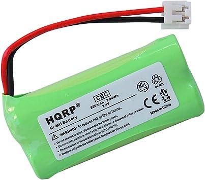 HQRP Batería para Motorola L402, L402C, L403, L403C, L404, L404C teléfono inalámbrico: Amazon.es: Electrónica