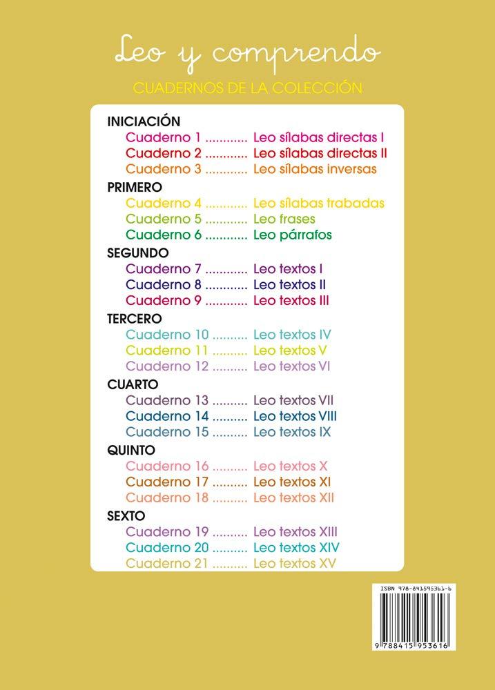 Lecturas comprensivas 21 - Leo Textos XV: Amazon.es: José Martínez Romero: Libros