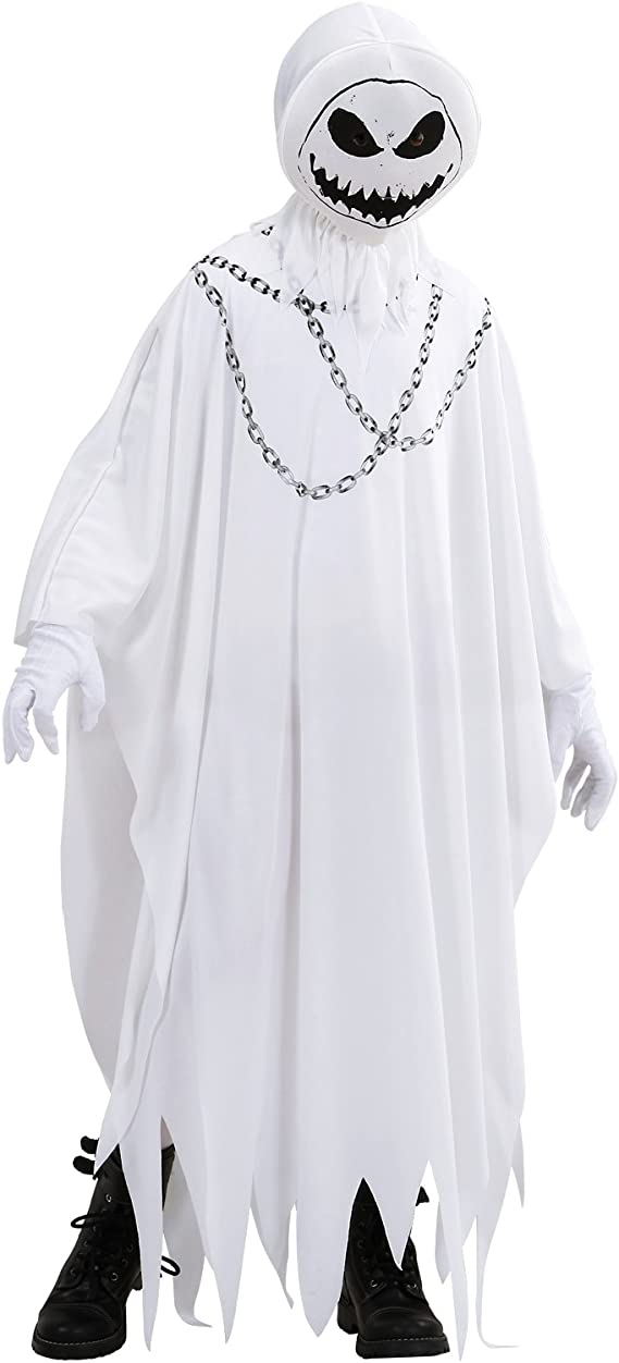 WIDMANN Disfraz niño, Niño Halloween, Vestido Fantasma * 21845 ...