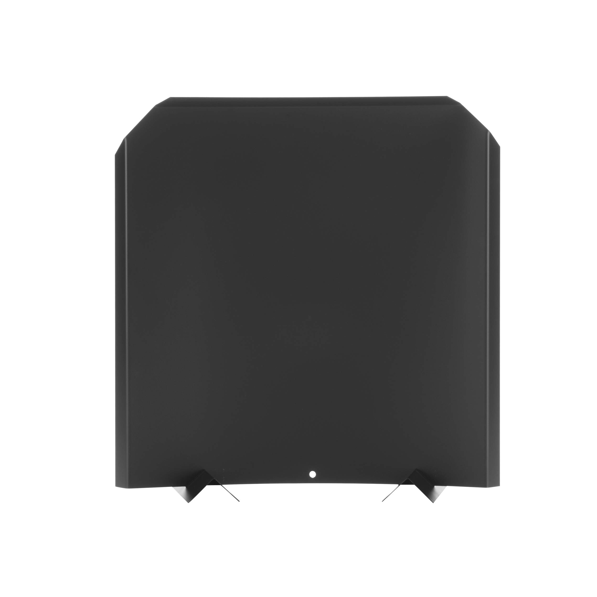 HY-C FB2020 Fireback, Stainless Steel Painted Black, Adjustable Installation, Protects Firebox, 20'' x 20'' by HY-C
