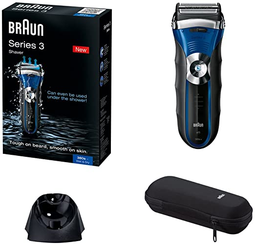 Braun - Afeitadora Series 3-380S-4 utilizable bajo el agua: Amazon ...