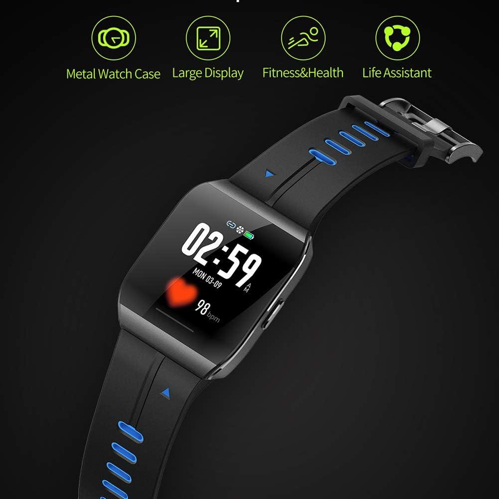 SEXTT Reloj Elegante, IP68 a Prueba de Agua SmartWatch Monitor de ...