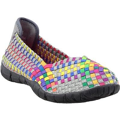 Corkys Women's Sidewalk Slip on Flat   Loafers & Slip-Ons