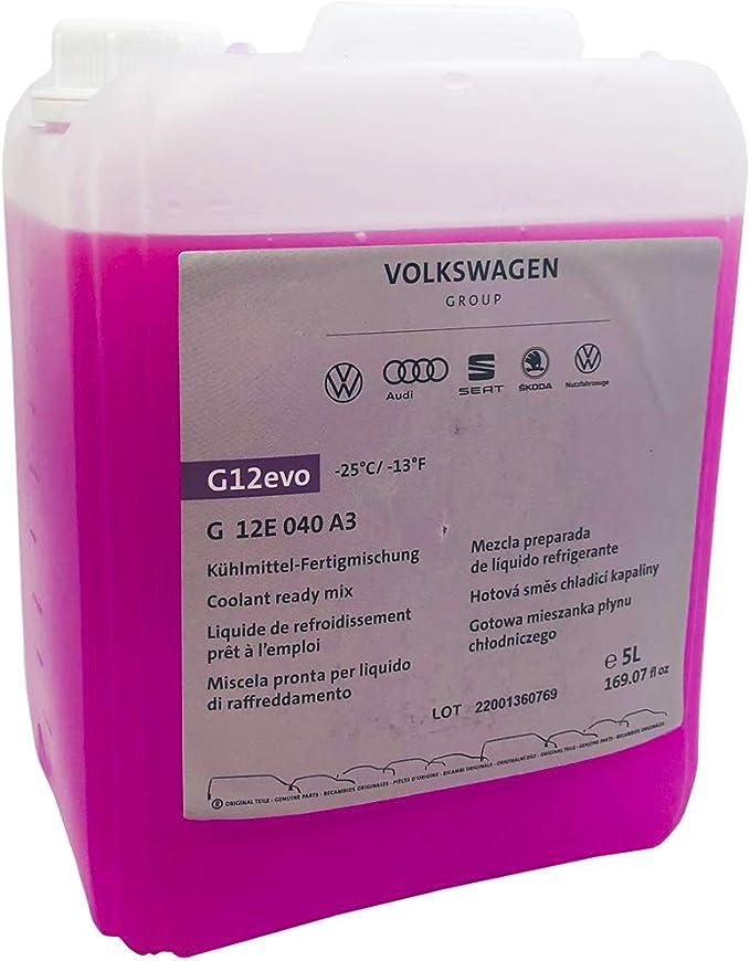 Original G12 Kühlflüssigkeit Kühlmittel Vw Audi Ready Mix J4 5l Kanister Auto