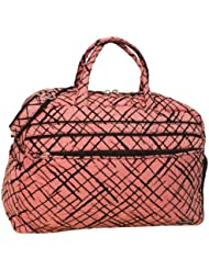 Jenni Chan Brush Strokes Soft Gym Duffel, Red, One Size