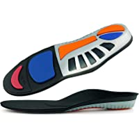 Zingther Arch Support Shoe Insert Insoles for Men and Women - Sports Performance Enhancement (XS, 35-36)