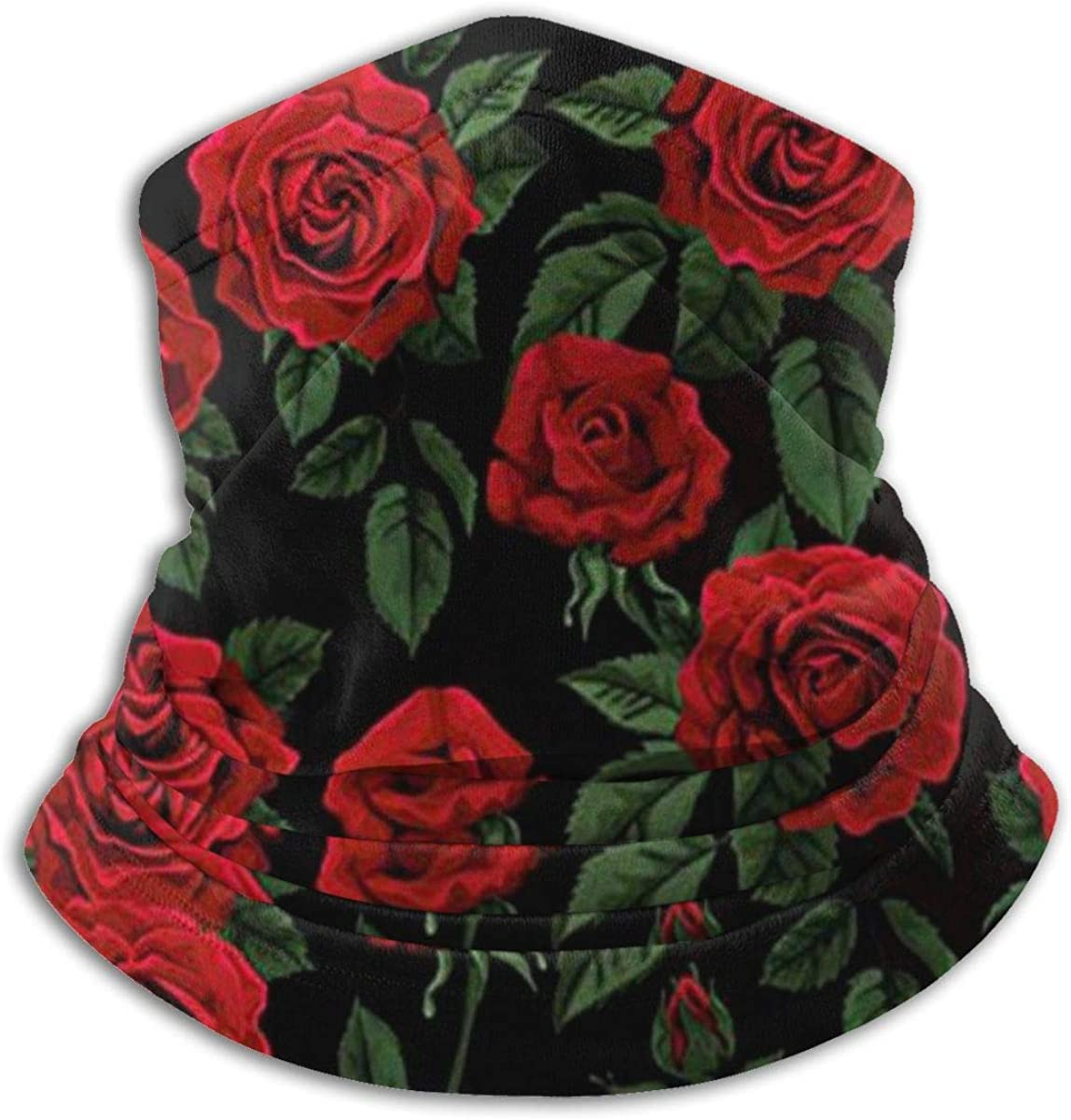 NA Green Black Mask Warm Neck Scarf Outdoor UV Protection Party Cover Men and Women Multi-Function Headdress