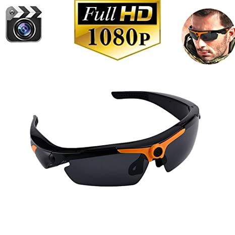 5cfd69b8749 Amazon.com   HD 1080P Camera Sunglasses