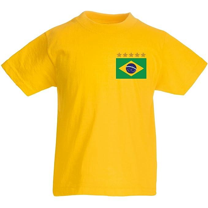 Desconocido Camiseta de niño, Brasil Neymar, XS