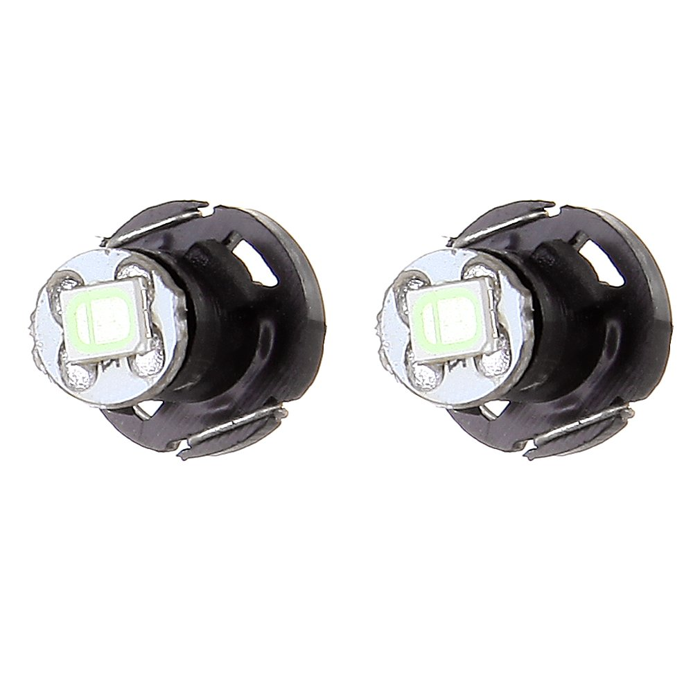 cciyu 4 Pack Ice Blue T4//T4.2 Neo Wedge 1-2835-SMD Chips Led Light Bulbs Replacement fit for A//C Climate Control Light Bulbs Replacement fit for 2005-2011 Toyota Tacoma