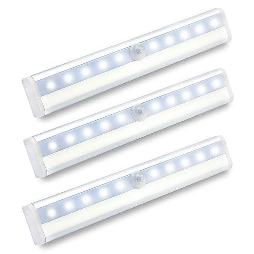 motion sensor light bar indoor10 led wardrobe battery operated with wzmirai cupboard lighting led25 lighting