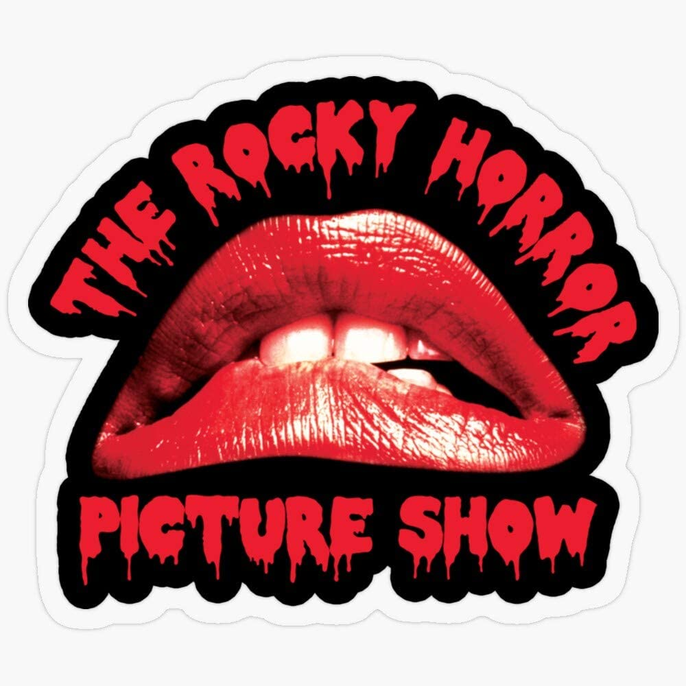 """Lplpol Vinyl Sticker - Rocky Horror Picture Show - Funny Decal Sticker Or Laptop, Phone, Cars, Water Bottles 5.5"""""""