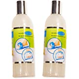 Easy Feet Spa Foot Wash Scrub -- Deluxe Foot Cleaner (2 Pack -- 32 Oz Total)