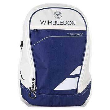 Babolat Club Wimbledon Mochila de Tenis, Unisex Adulto, Azul/Beige, Talla Única: Amazon.es: Deportes y aire libre
