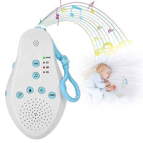 Máquina de ruido blanco, chupetes de sueño con 8 tipos de ruido que ...