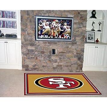 Elegant Fan Mats San Francisco 49ers Rug, 46u0026quot; ...