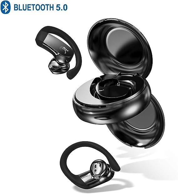 Wireless Earbuds with Earhooks