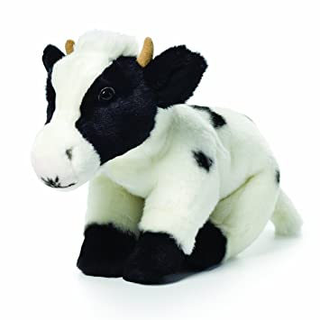 Nat And Jules Plush Toy Cow Large