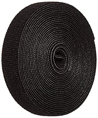 15 Length VELCRO 1815-OW-PB//B White Nylon Velcro Onewrap Strap Hook and Loop 1-1//2 Wide