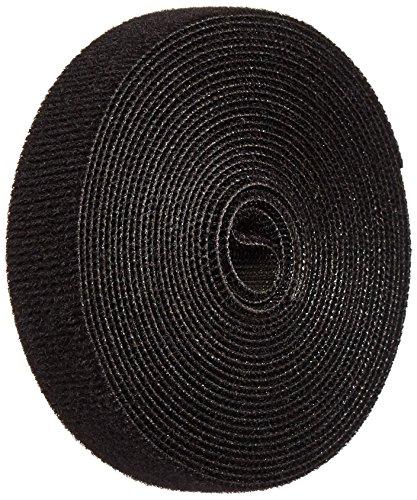 (VELCRO 1803-OW-PB/B Black Nylon Onewrap Strap, 3/4