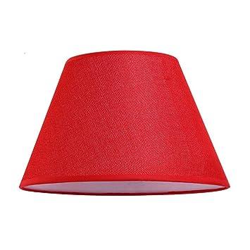 30 cm H/öhe 16 cm x 20 cm x unten Aprikose Leinen Top DULEE 12 Zoll Leinen E27 Schraubtisch Lampenschirme Lightshade f/ür Tischlampe Bedlamp,
