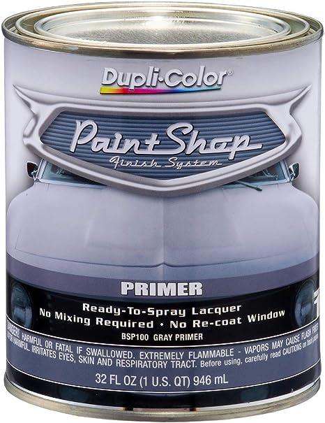 Dupli Color Bsp100 Gray Paint Shop Finish System Primer 32 Oz