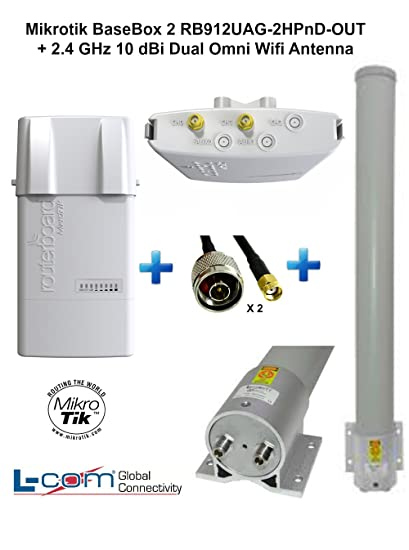 MikroTik RB912UAG-2HPnD-OUT Antenna New