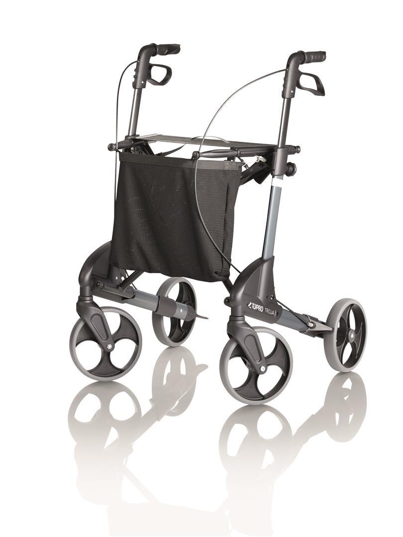 De estilo clásico Topro maleta con asa y ruedas Troja andador de ...