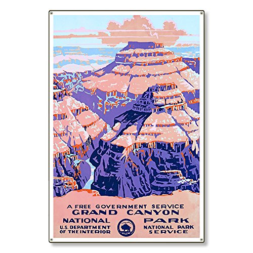 Large Metal Wall Art Decor Sign | Grand Canyon National Park