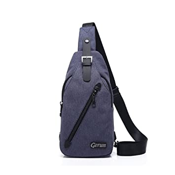 Image Unavailable. Image not available for. Color  Men s Chest Bag Male  Casual Messenger Bag New Bag Korean Tide ... f5ab9bbf208d8