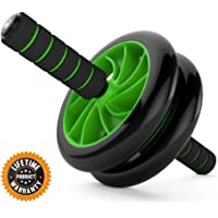 (Ab Roller) - Ab Roller Wheel :: Abs Carver for Abdominal & Stomach Exercise Training :: Fitness Equipment Core Shredding :: Includes 2 Free Instructional eBooks