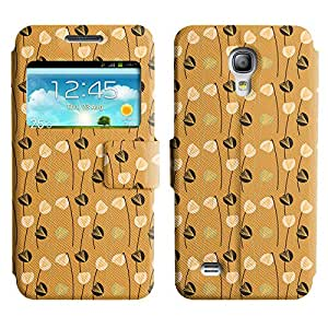 LEOCASE flor fresca Funda Carcasa Cuero Tapa Case Para Samsung Galaxy S4 Mini I9190 No.1002861