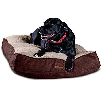 Fine Floppy Dawg Super Extra Large Dog Bed With Removable Cover And Waterproof Liner Made For Big Dogs Up To 100 Pounds And More Jumbo Size 48 X 30 And Theyellowbook Wood Chair Design Ideas Theyellowbookinfo