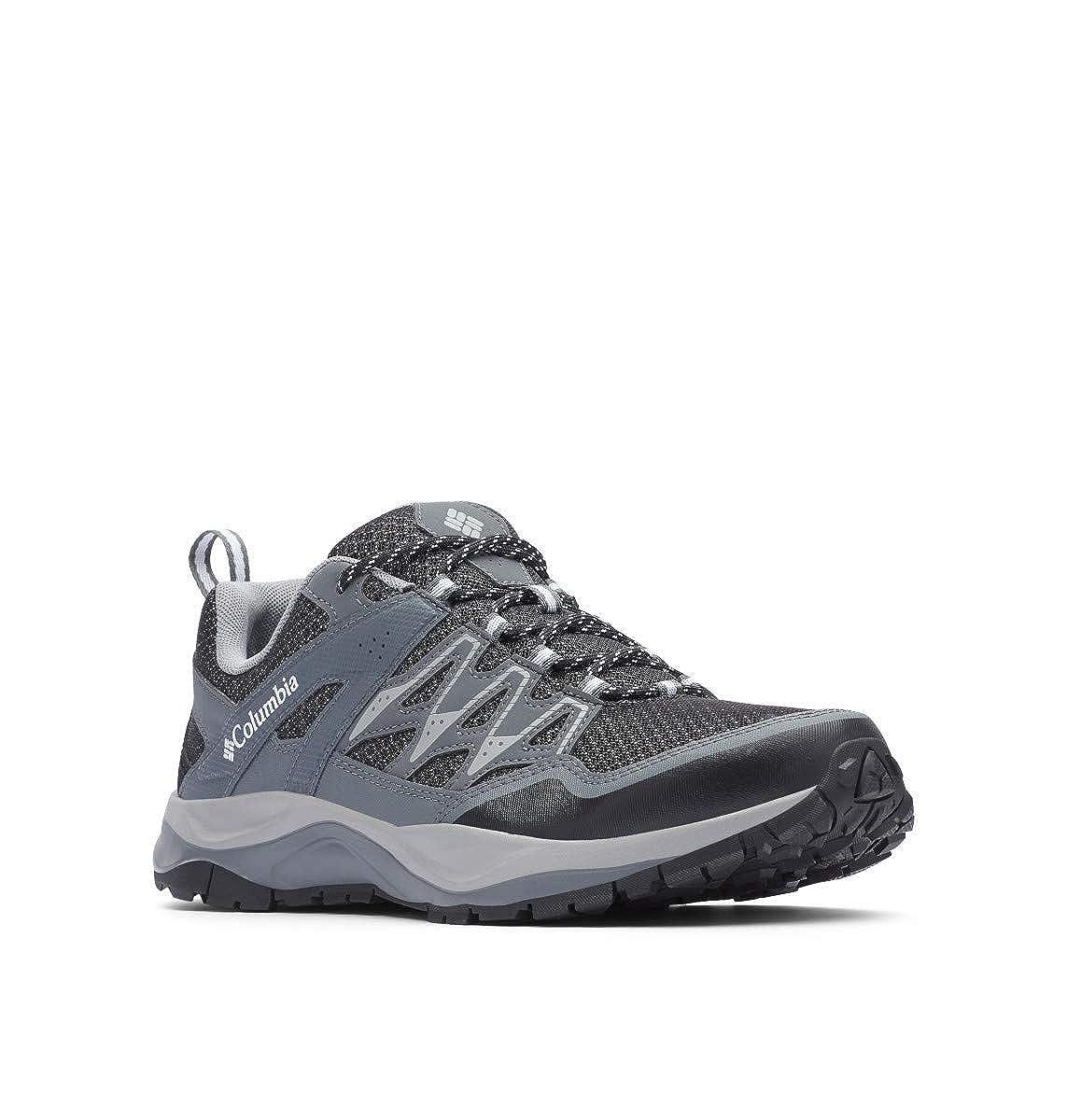 Noir (noir, blanc) 47 EU Columbia Wayfinder, Chaussures de Randonnée Basses Homme