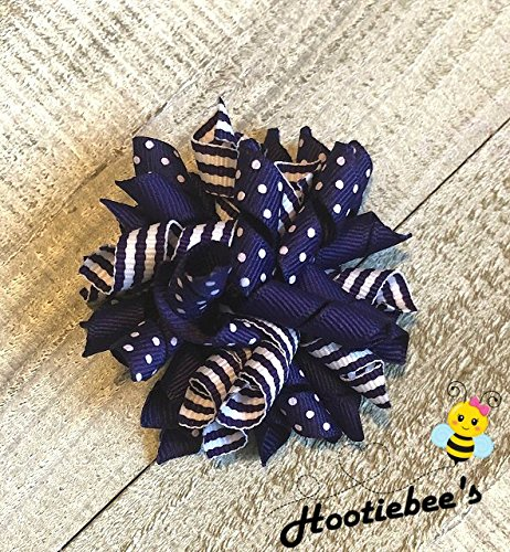 Purple Korker Hair Bow]()