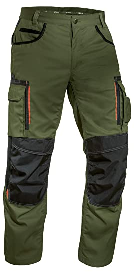 3efebace40 Uvex Tune-up 8909 Work Trousers with Cordura Knee Pads for Men   Light and