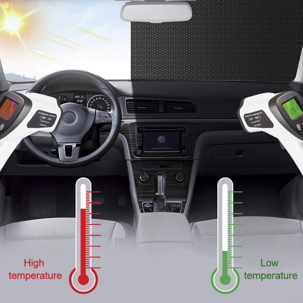 150x90 cm garde au frais la couverture de glace pour les v/éhicules utilitaires lourds Pare-soleil anti-UV pour voiture Sun Block pliable en aluminium Pare-brise pare-brise papier aluminium bulle