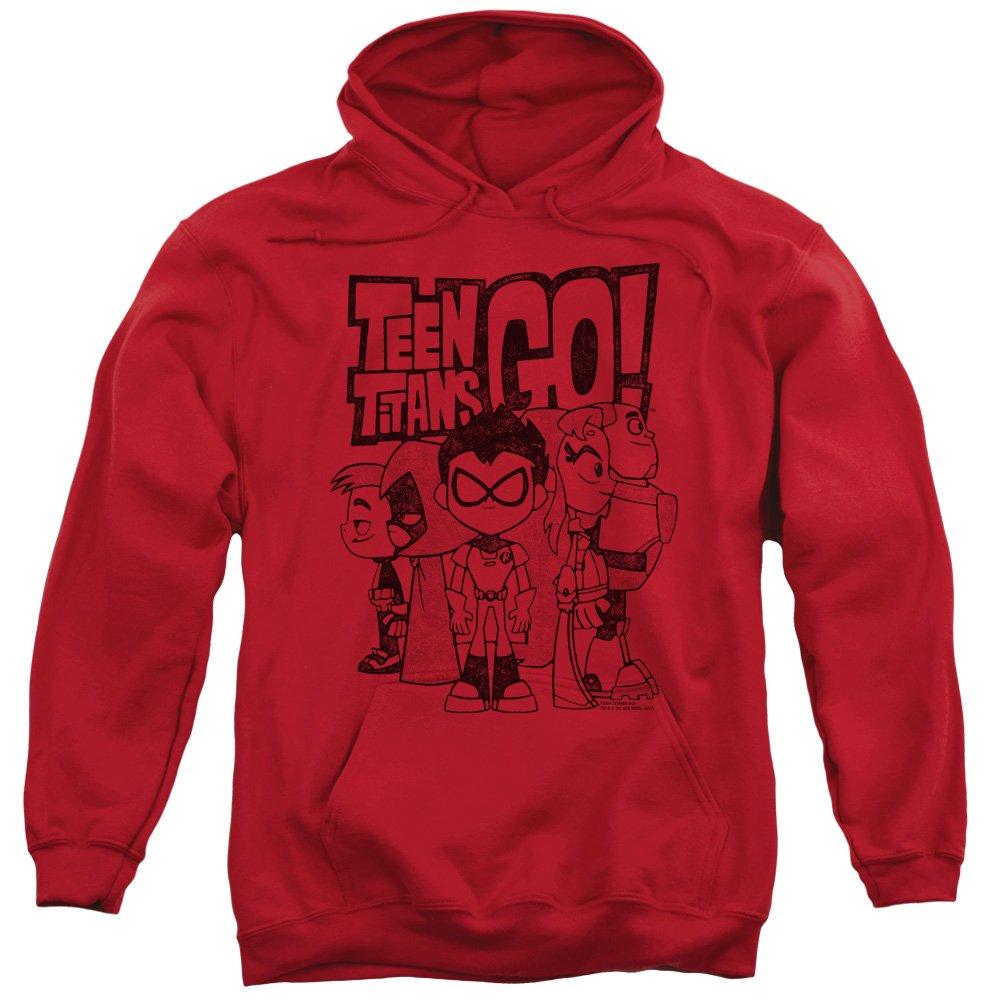 Dc Comics Teen Titans Go - Men's Team Up Einbauküche Hoodie