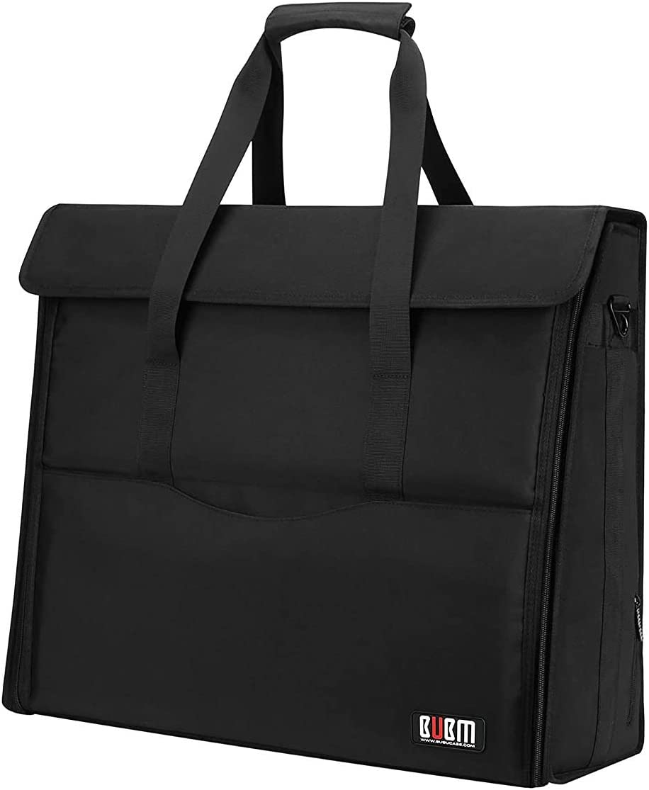 """BUBM 27"""" Nylon Carry Tote Bag Compatible with Apple iMac Desktop Computer, Travel Storage Bag for iMac 27-inch"""