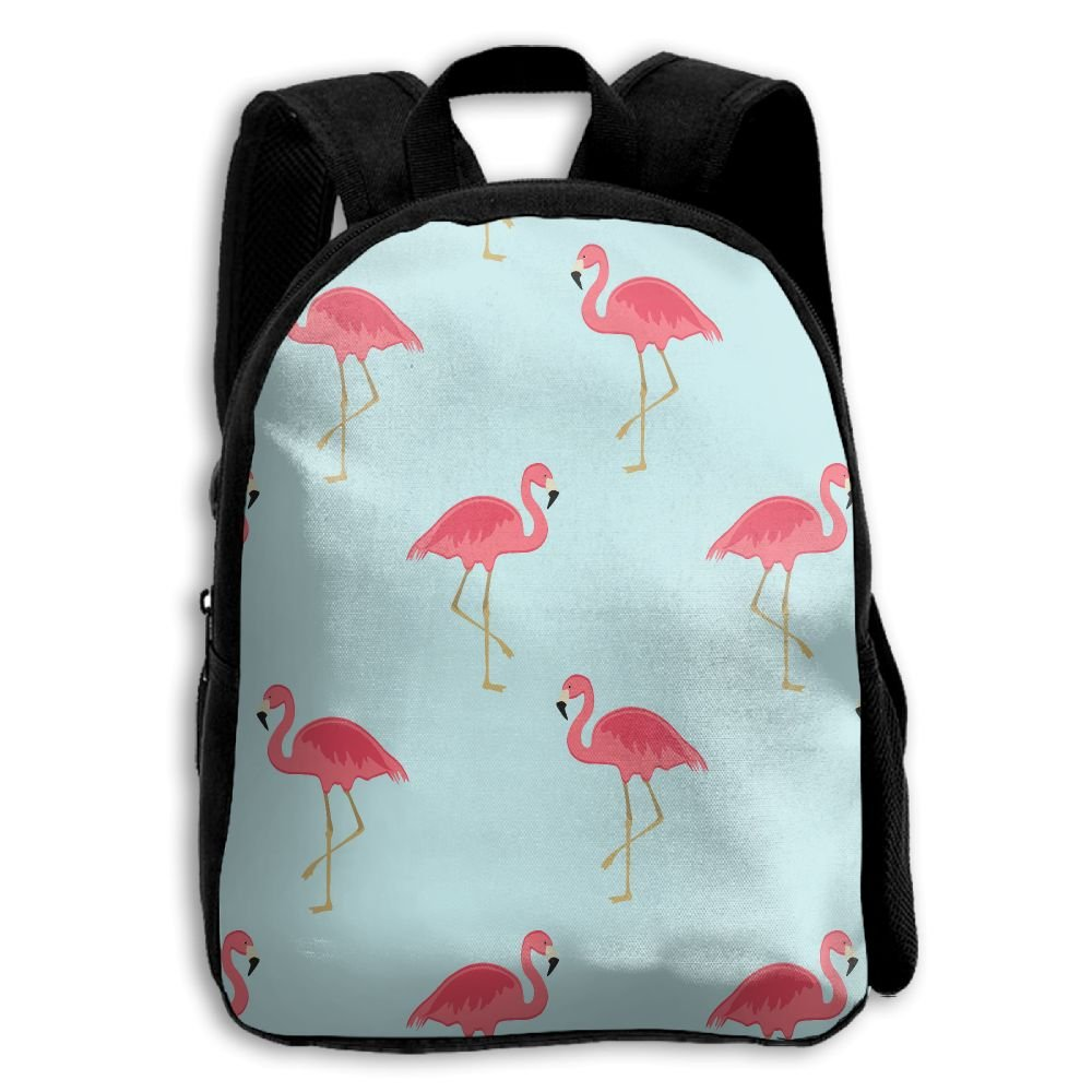 Limin Tidy Flamingo Print A耐久性Kid 'sミニバックパック B07CHD51YM