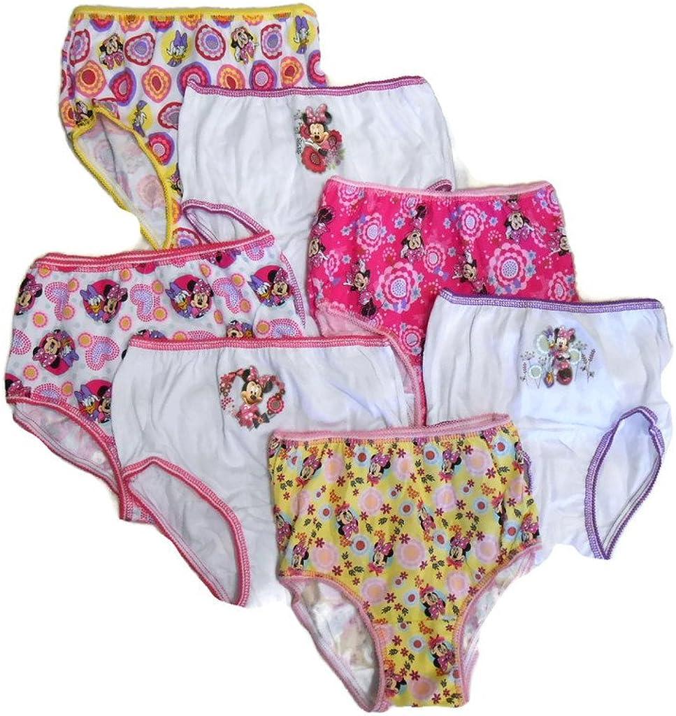 DISNEY MULTI-CHARACTER 8 TODDLER Underwear PREMIUM COTTON SIZE 2T//3T