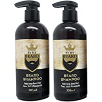 x2 By My Beard- Beard Shampoo Wash Men's Moustache Grooming Care Facial Hair