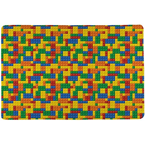 Halloween Building Blocks Costume All Over Placemat