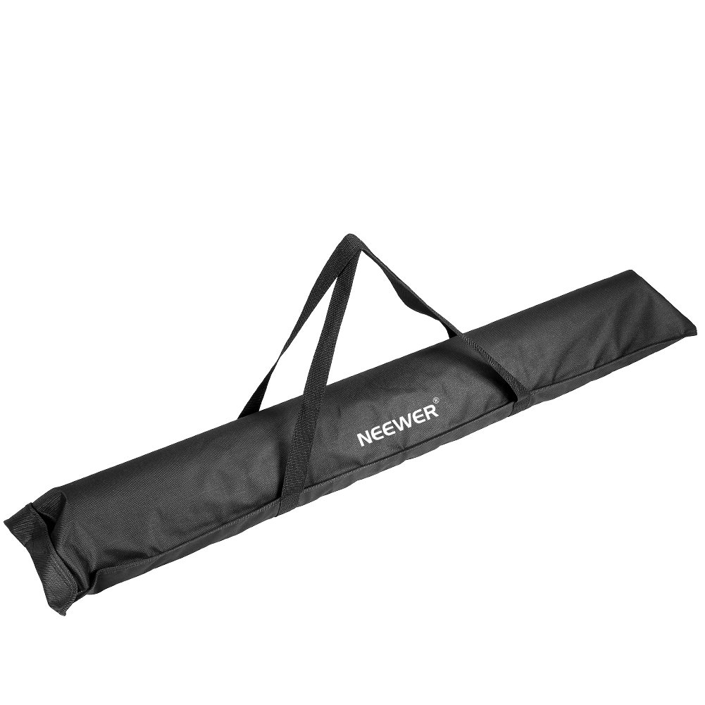 nero Neewer/® 42,5//108 cm durevole altoparlante treppiede supporto//custodia da trasporto con due cinghie