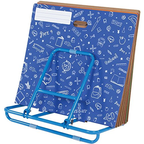 Poster And Chart Organizer And Storage Solution (Display Rack Poster Board)