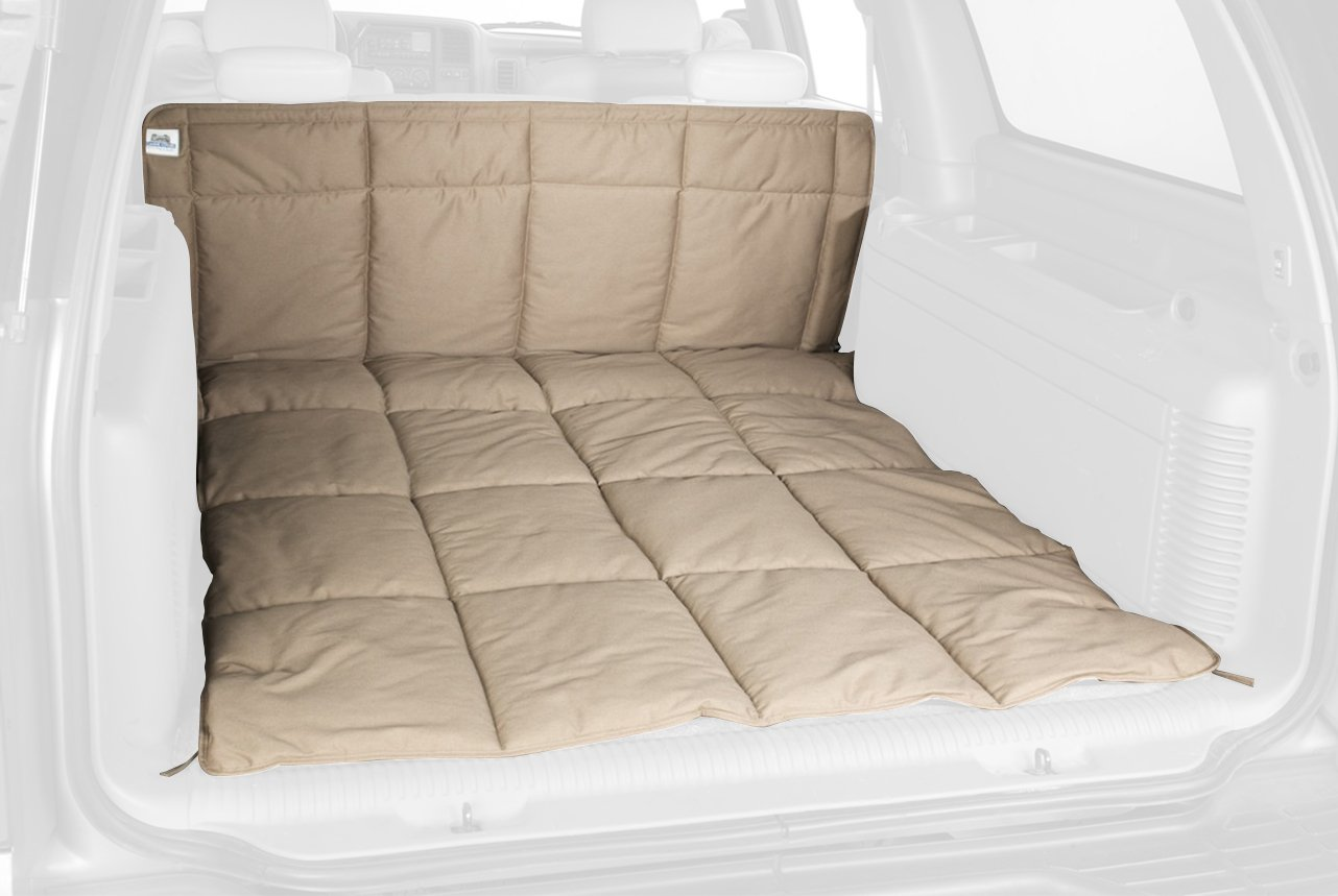 Canine Covers DCL6378BK Cargo Area Travel Liner Black Polycotton Large Cargo Area Travel Liner by Canine Covers